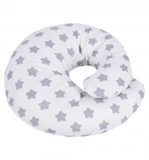 Подушка для кормления , цвет: серый Leader Kids