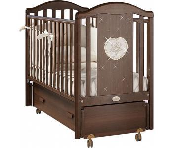 Детская кроватка  Mon Amour Swing продольный маятник Feretti
