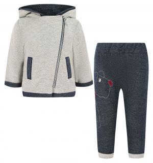 Комплект джемпер/брюки  Bruno, цвет: голубой/синий Sofija