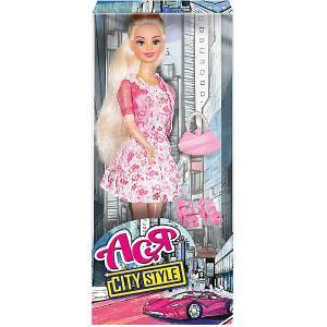 Кукла  Стиль большого города Ася, 28 см Toys Lab. Цвет: розовый
