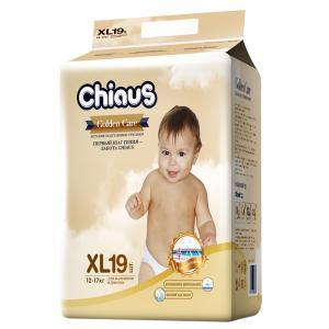 Трусики-подгузники  Golden Care, р. 4+, 12-17 кг, 19 шт Chiaus