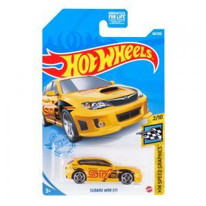 Автомобиль  Серия базовых моделей Subaru WRX STI 7 см Hot Wheels