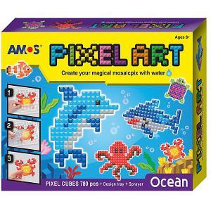 Аква-мозаика из пикселей  Океан Amos. Цвет: желтый
