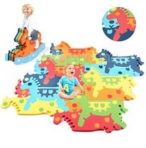 Игровой коврик  пазл-качалка Лошадка Tessell