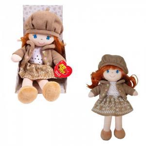 Кукла в коричневом берете и фетровом костюме 36 см ABtoys