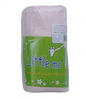 Пеленка Little Me. Цвет: розовый