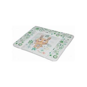 Матрас для пеленания  Funny Bunny, green Baby Care. Цвет: зеленый