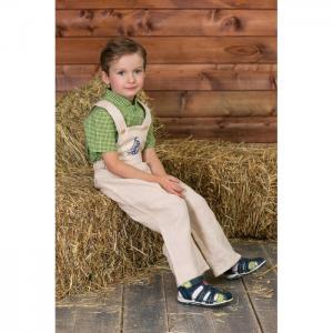 Комбинезон детский с вышивкой кораблик 2230 Frizzzy
