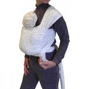 Слинг  шарф трикотажный Млечный путь Мамарада