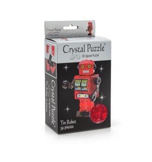 Головоломка 3D  Робот красный цвет: Crystal Puzzle