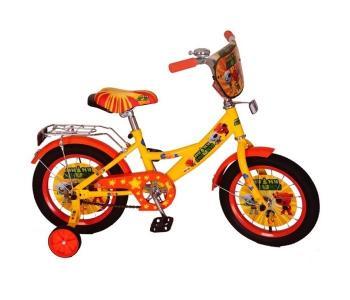 Велосипед двухколесный  МиМиМишки 14 Mustang