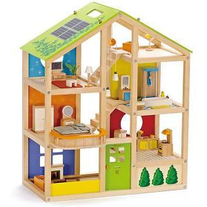 Дом для мини-кукол  с мебелью, 33 предмета Hape. Цвет: разноцветный