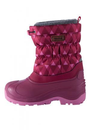 Ботинки , цвет: розовый Reima