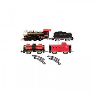 Железная дорога с тремя вагончиками 184 см, Голубая стрела