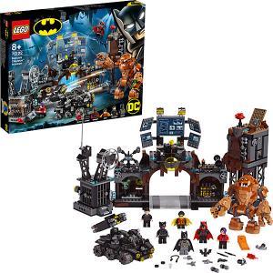Конструктор  Super Heroes 76122: Вторжение Глиноликого в бэт-пещеру LEGO