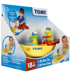 Игрушка для ванной  Крокодил на водных лыжах Tomy