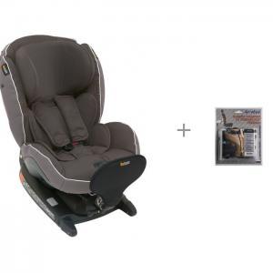 Автокресло  iZi Combi X4 Isofix с защитой спинки сиденья от грязных ног ребенка АвтоБра BeSafe