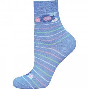 Носки Брестские. Цвет: голубой