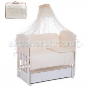 Комплект в кроватку Leader Kids Королевское высочество (7 предметов) Lider