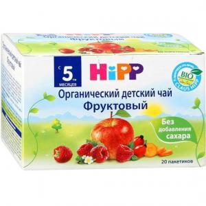 Чай  фруктовый, 40 г Hipp