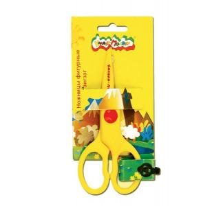 Ножницы безопасные длина: 135 мм материал ручек: пластик  Зиг-заг Каляка-Маляка