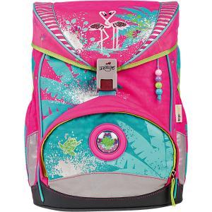 Ранец с наполнением  Ergoflex Фламинго DerDieDas