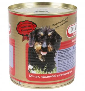 Влажный корм Dr.Alders Garant для взрослых собак, ягненок, 750г Dr.Alder's