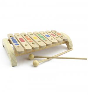 Ксилофон  8 тонов Мир Деревянных Игрушек