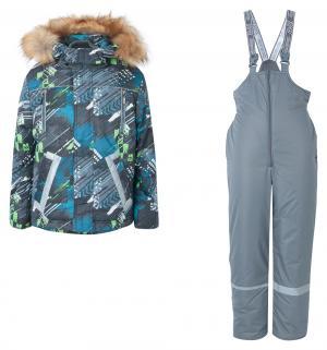 Комплект куртка/брюки  Егорка, цвет: синий Аврора