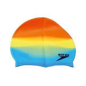 Силиконовая шапочка для плавания , мультиколор Dobest
