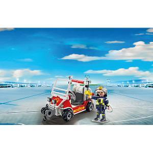 Конструктор Playmobil Городской Аэропорт Пожарный квадроцикл PLAYMOBIL®