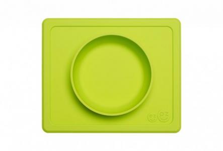Тарелка с подставкой силиконовая Mini Bowl Ezpz