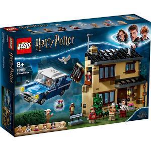 Конструктор  Harry Potter 75968: Тисовая улица, дом 4 LEGO