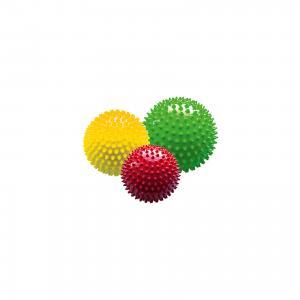 Набор мячей ёжиков Светофор, 8,5 см, 12 18 МалышОК