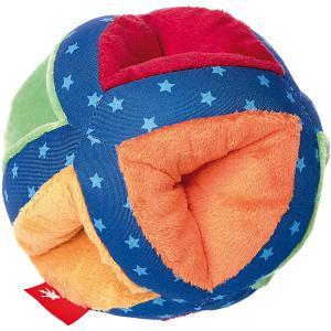 Развивающая мягкая игрушка Sigikid PlayQ Разноцветный мяч, 12 см