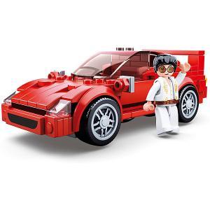 Конструктор  Транспорт Суперкар, 163 детали Sluban. Цвет: разноцветный