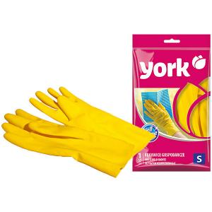 Перчатки резиновые , S York