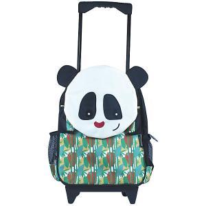 Рюкзак-чемодан Deglingos Rototos  Panda разноцветный. Цвет: черный