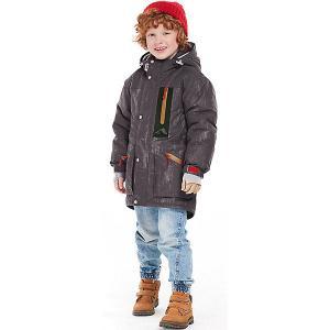 Утеплённая куртка Oldos Дилан. Цвет: серый