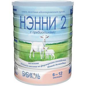 Молочная смесь на основе козьего молока  2, с 6 мес, 800 г Нэнни