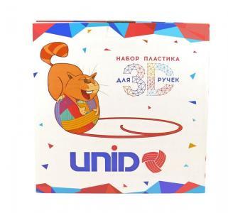Пластик для 3D ручек  7 рандомных цветов х 10 м UNID