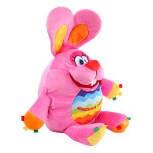 Мягкая игрушка  Зайка-развивашка 38 см СмолТойс
