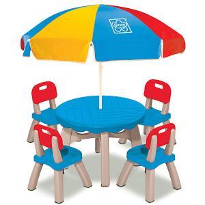Набор мебели Grown Up, 6 предметов Grow'n Up. Цвет: разноцветный
