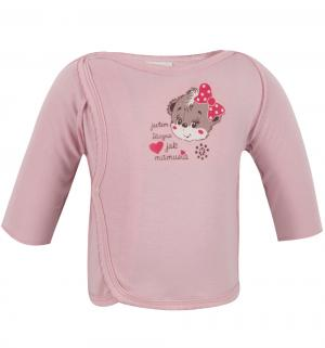 Распашонка  Волшебная зима, цвет: розовый Aga