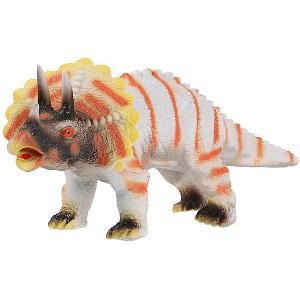 Игровая фигурка  Рассказы о животных Динозавр трицератопс, озвученная Играем вместе