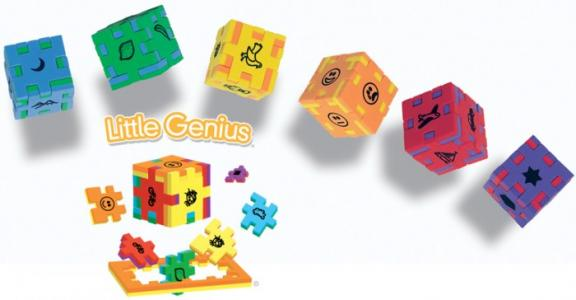Набор Маленький гений 6 пазлов Happy Cube