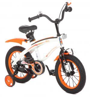 Велосипед  G14BM, цвет: белый/оранжевый Capella