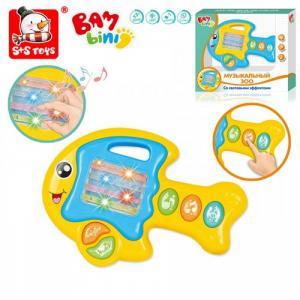 Развивающая игрушка  Пианино Музыкальный Зоо Рыбка Bambini