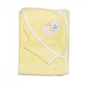 Полотенце-уголок с рукавичкой Осьминожка