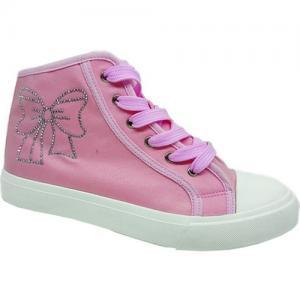 Кеды , цвет: розовый Зебра